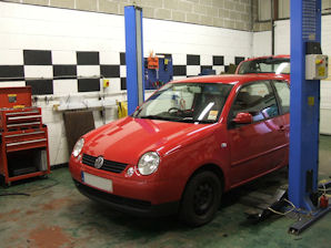 LPG Conversion VW Lupo 1.4L year 2005