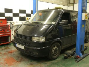 LPG Conversion VW Transporter 2.5L year 1998